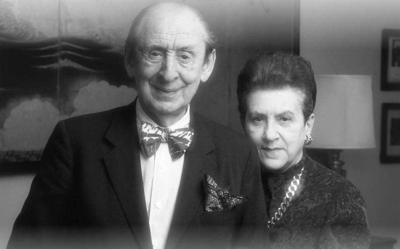 ladimir Horowitz und Wanda Toscanini-Horowitz