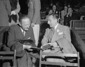Vladimir Horowitz und Jascha Heifetz