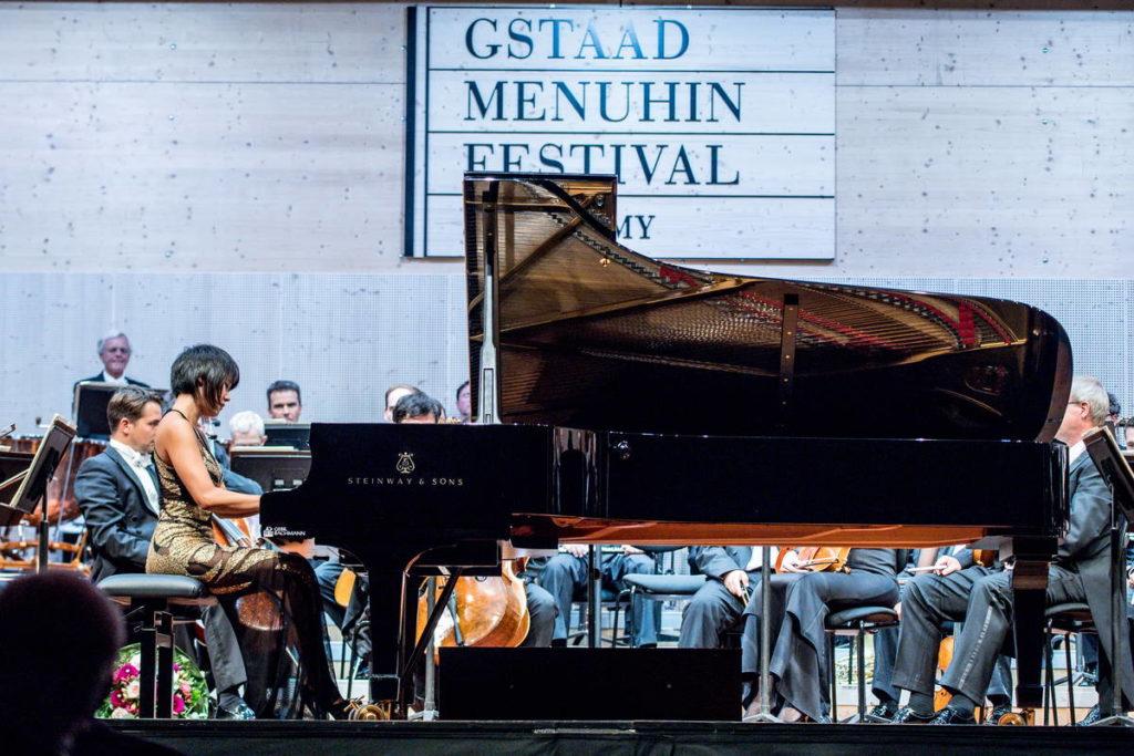 Yuja Wang, MYUNG-WHUN CHUNG & Staatskapelle Dresden beim Gstaad Menuhin Festival