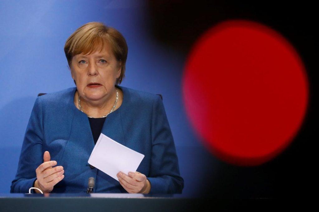 Angela Merkel verkündet Teil-Lockdown