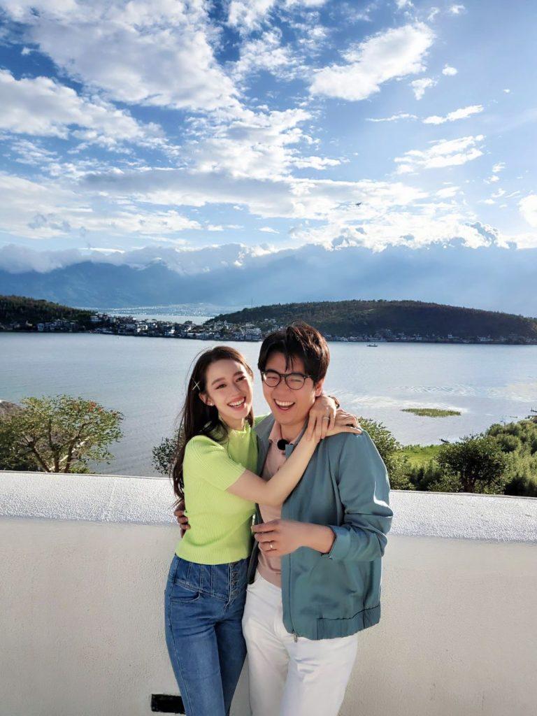 Lang Lang und seine Frau Gina Alice Redlinger