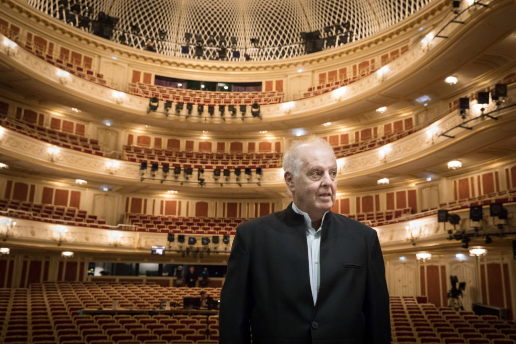 Daniel Barenboim in der Staatsoper Unter den Linden