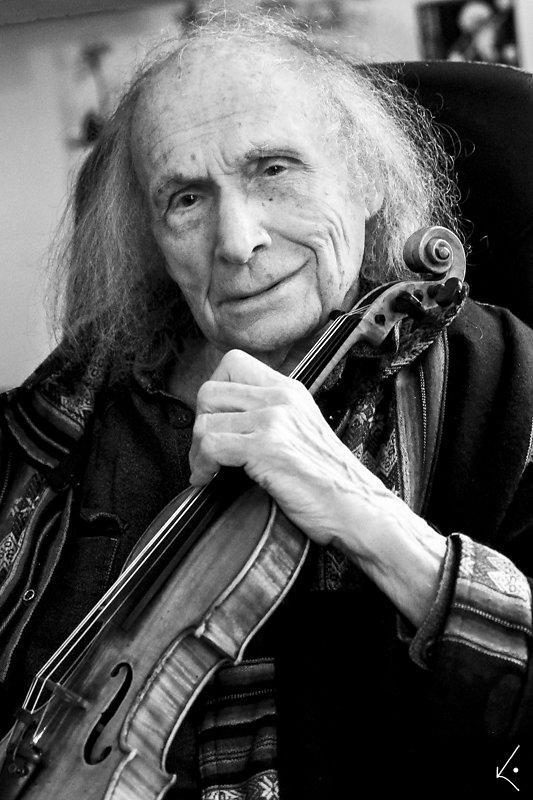 """Ivry Gitlis und_seine_Stradivari """"Sancy"""""""