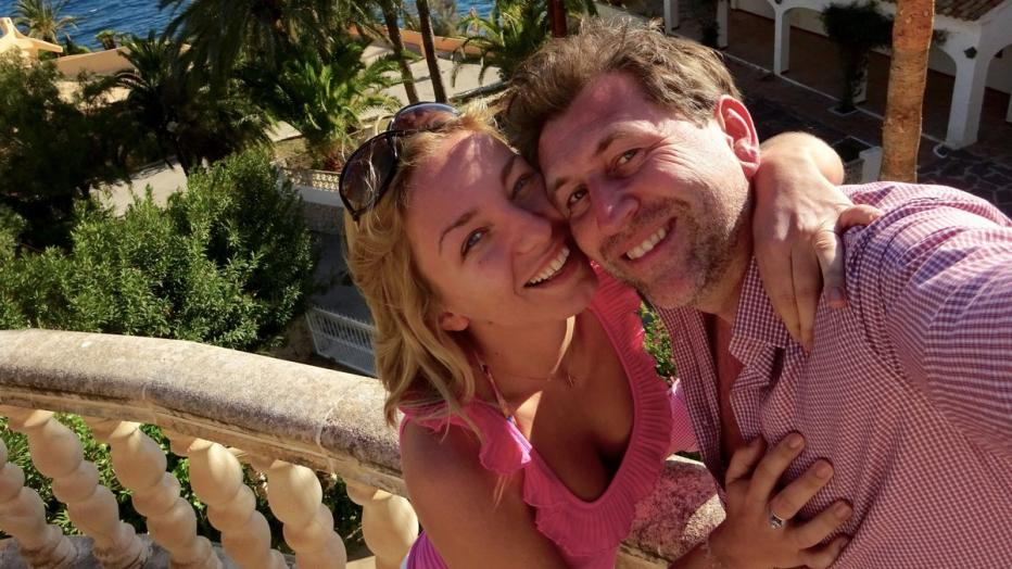 Foto: Heldentenor Andreas Schager mit seiner Frau Lidia Baich © Lidia Baich /Privat