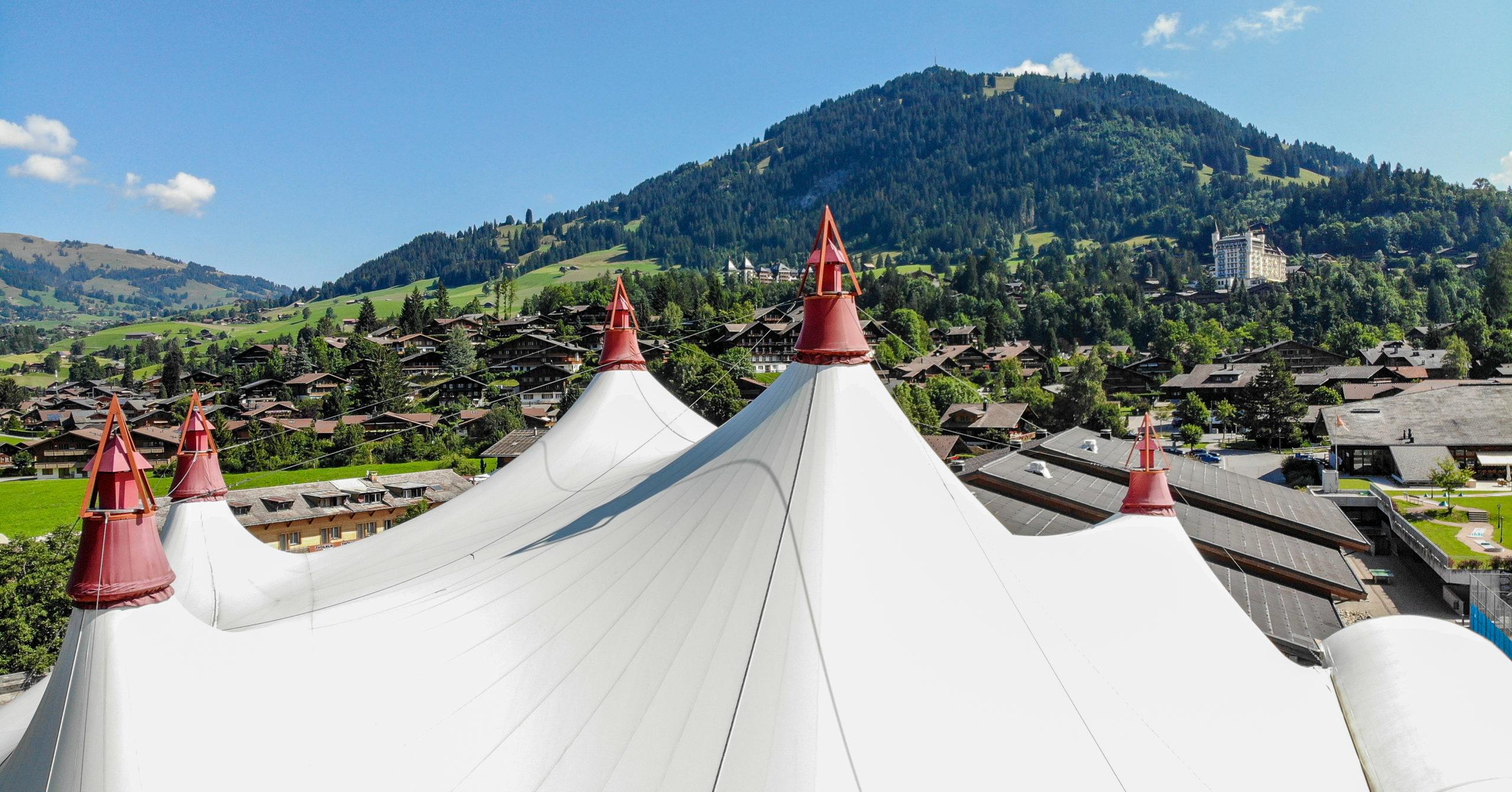 Festivalzelt Gstaad
