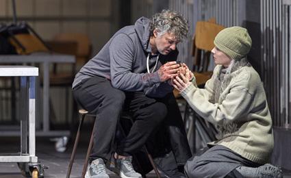 onas Kaufmann (Parsifal) und ElĪna Garanča (Kundry)