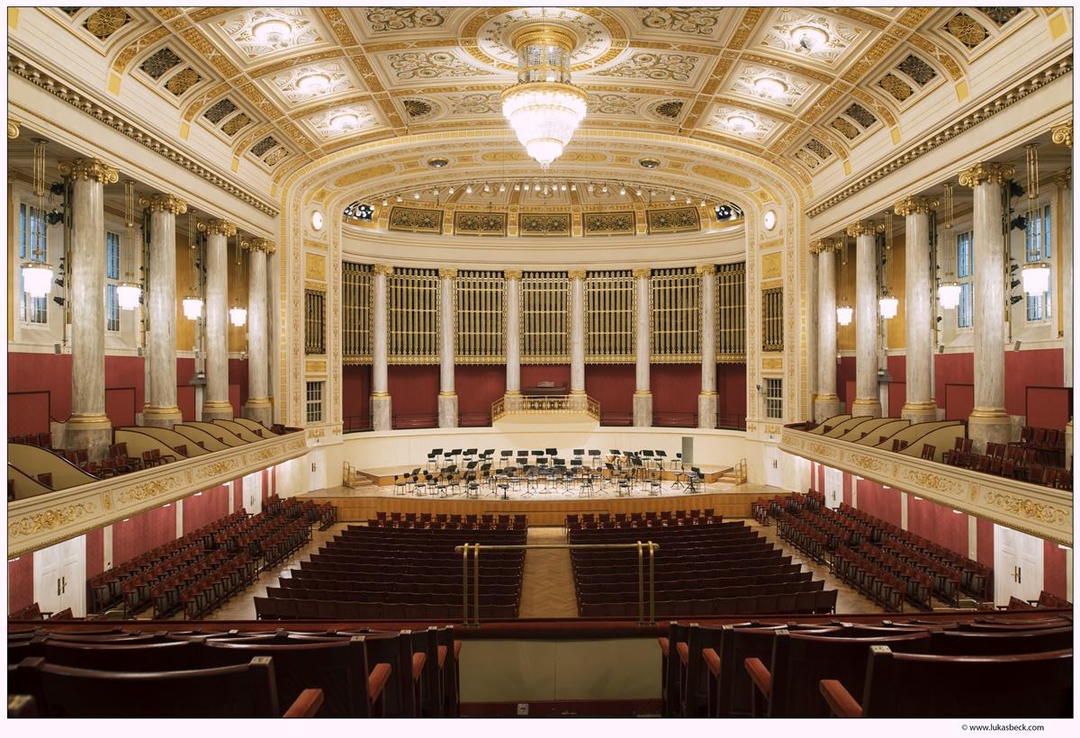 Großer Saal im Wiener Konzerthaus