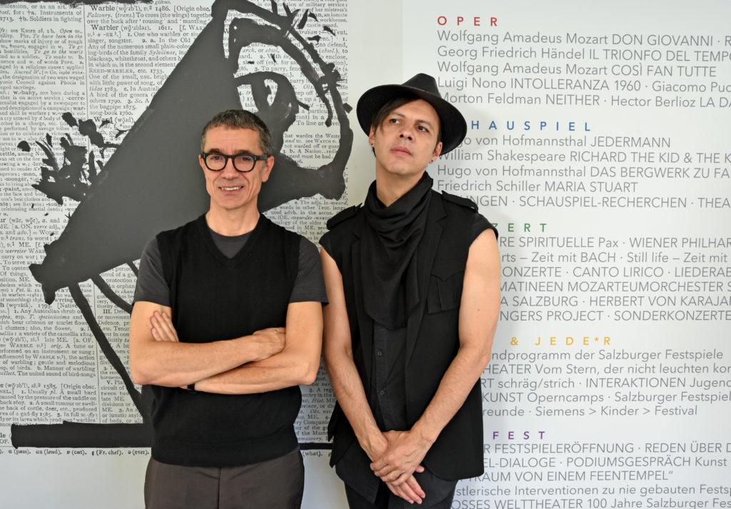 Romeo Castellucci und Teodor Currentzis