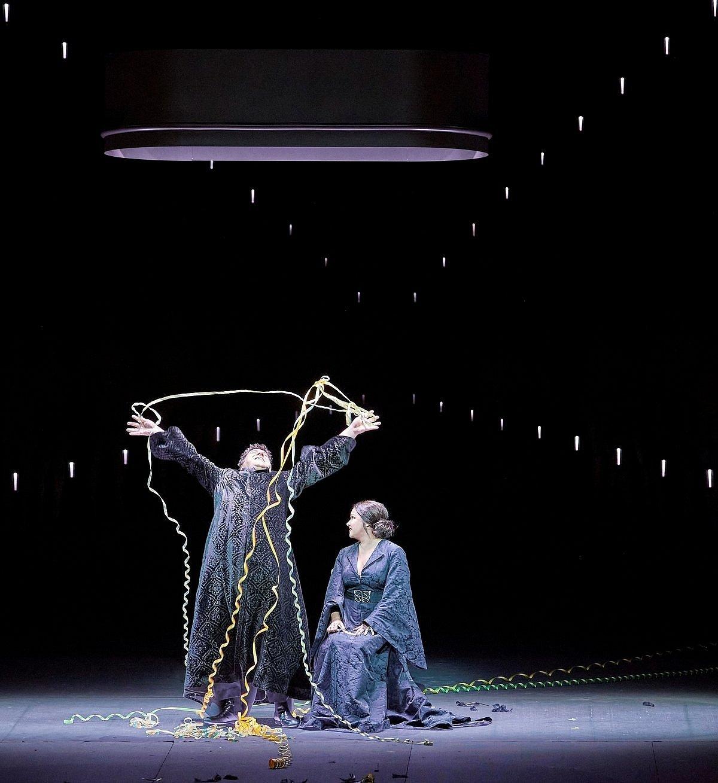Anna Netrebko und Luca Salsi in Macbeth