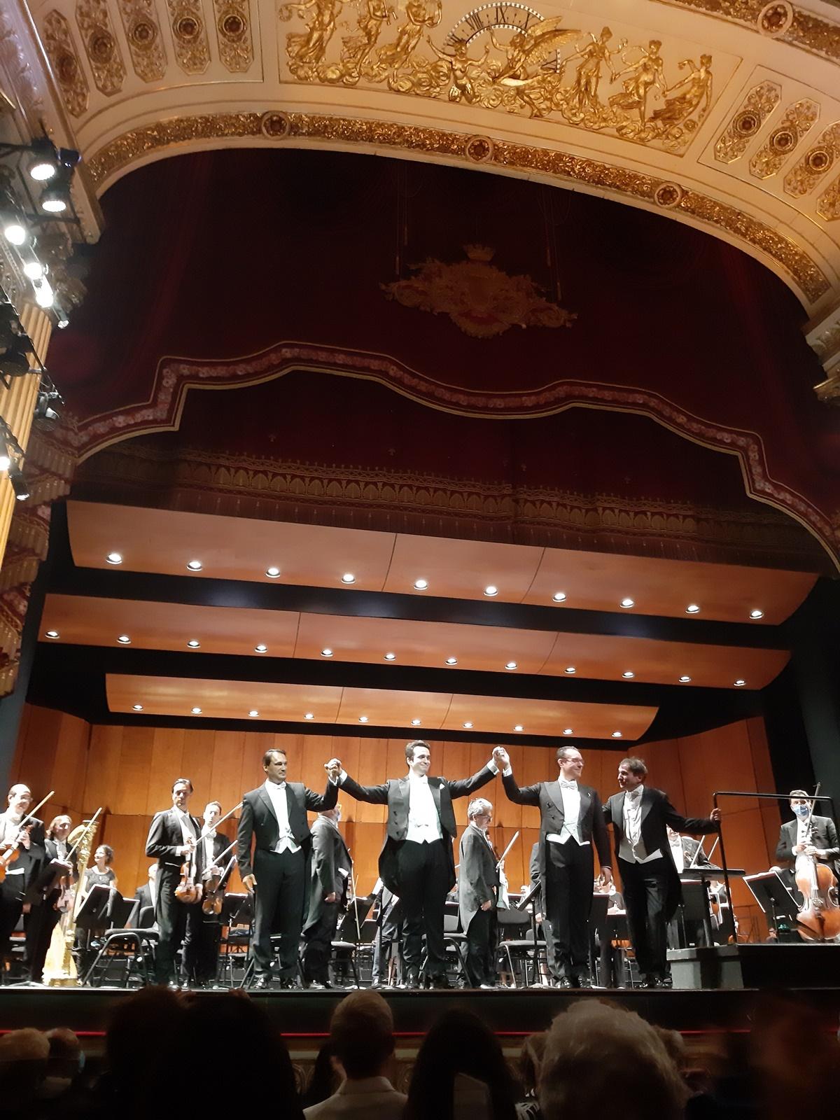 Caruso Gala im Teatro San Carlo in Napoli